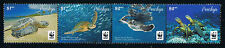 Penrhyn WWF Pacific Green Turtle Stamp Strip