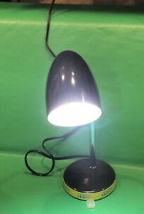 Intertek LED Desk Lamp Gooseneck Flexible Black MTSL1001AHB-LED3. 5K840