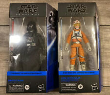 Star Wars The Black Series Darth Vader & Luke Skywalker 6-Inch Action Figures