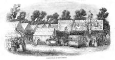 REDBRIDGE The Fairlop Fair in Epping Forest - Antique Print 1843