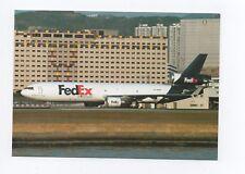 FEDEX MD-11F N618FE c/n 48754 at Hong Kong 11/1996 (clutch bag 5)