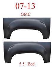 5.5' Bed GMC 07 13 Set Upper Wheel Arch Repair Panel, Sierra Truck, Both Sides!!