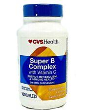CVS Health Super B Complex  with Vitamin C Energy Metabolism Exp 01/22