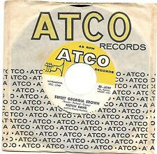 DAVIE, Hutch  (Sweet Georgia Brown)  ATCO 6149 = VINTAGE record