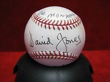 THE MONKEES Signed Autograph Official Rawlings Baseball Davy Jones Nesmith JSA
