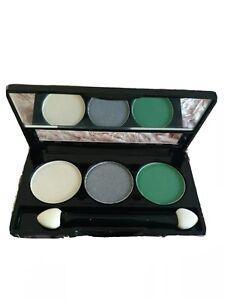 NYX Cosmetics Eyeshadow Trio 2.1g pallette TS 16 OPAL/ PLATINUM SILVER/LUST NEW