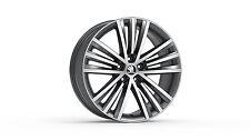 "Original SKODA aloy wheel SIRIUS 8J x 19"" 3V0071499B HA7"