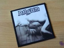 Nasum Patch Grindcore Autopsy Napalm Death