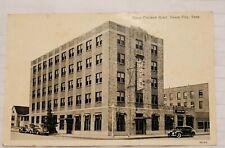 Vintage 1939 Curteich 1 Cent Postcard Of Davy Crockett Hotel Union City TN