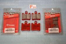 2 x 4 plaquettes de frein BREMBO YAMAHA FJR 1300 ABS Triumph TROPHY 1215 SE