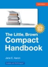 The Little, Brown Compact Handbook by Jane E. Aaron (2016, Paperback,...