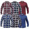 mens checked tartan shirts Tokyo Laundry collared long sleeved casual new
