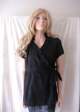 Wrap Hand-wash Only Regular Size Tops & Blouses for Women