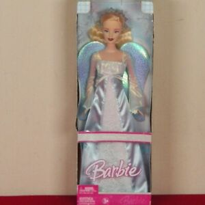 Holiday Angel Barbie Doll - 2006 Mattel J0590 Blue Wings NRFB New