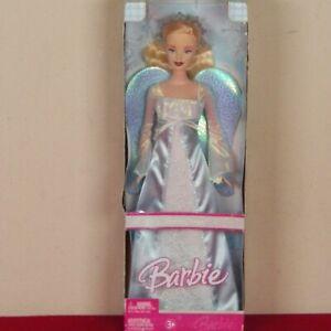 Holiday Angel Barbie Doll - 2006 Mattel J0590 Blue Wings NRFB New