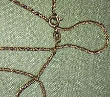18ct Solid Gold Hallmerked And Stamped 750 Rope Twist Chain 8g 53cm Length