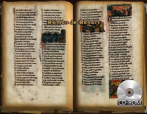 Roman de Renart - Reynard Cycle Date Created 1301 - 1350 AD Manuscripts