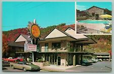 New listing Gatlinburg Tennessee~Smokyland Motel & Swimming Pool~Vintage Postcard