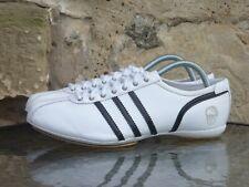 2007 Adidas Adi Dassler Trainer UK 8 White Black Rare Runners Sneakers Originals