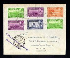 9100-ETHIOPIE-OLD COVER ASMARA to IOWA (usa).1955. ETHIOPIA.