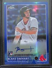 2015 Topps Chrome Blue  Refractor Autograph #AR-BST Blake Swihart No 41 of 150