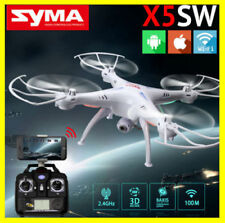Syma X5SW Wifi FPV 2.4G RC 6-Axis Quadcopter Drone 2MP Camera HD +Charger New
