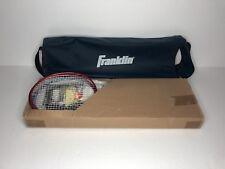 Franklin Sports Backyard Badminton Set (Net, Racquets, Birdies Included) - Case