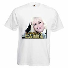 T-shirt RAFFAELLA CARRA' maglietta carrà trendy unisex cotone coll moda S-XL