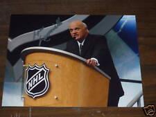 LOU LAMORIELLO  AUTOGRAPHED NHL 8X10 PHOTO*HOF