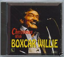 BOXCAR WILLIE - CHRISTMAS WITH - NEW SEALED CD