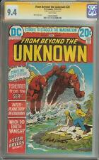 FROM BEYOND THE UNKNOWN #20 SS CGC 9.4 SIGNED NICK CARDY
