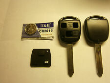 Toyota blank key kit. 3 button ... avensis.. 2003 to 2010