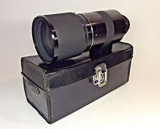 sigma mirror-ultratel 1:8 f=500mm lens with Leather Case T2-thread
