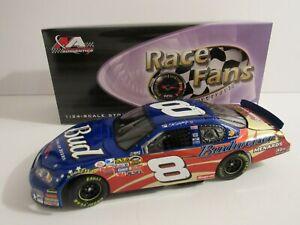 2007 Dale Earnhardt Jr #8 Bud Stars & Stripes Gold Chrome 1:24 NASCAR Action MIB