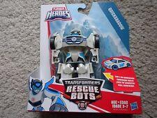 TRANSFORMERS Rescue Bots QUICKSHADOW Racecar Playskool Heroes Vehicle Race Car