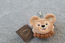 Nwt Disney Duffy Plush Coin/ Change Purse Aulani Key Chain Duffy Usa Release