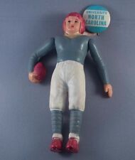 Celluloid Football Doll With Attached University of North Carolina Pinback