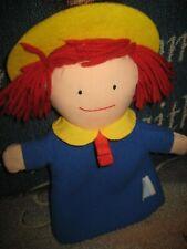 Eden Madeleine Madeline Hand Puppet 1990 soft