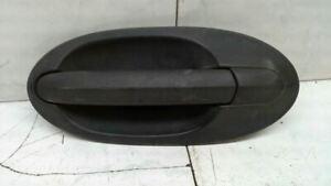 Driver Door Handle Exterior Door Rear Black Textured Fits 99-03 WINDSTAR 68346