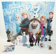 Disney Frozen 2 Movie Figure Set of 10 Deluxe Anna, Elsa, New Characters More!