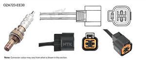 NGK NTK Oxygen Lambda Sensor OZA723-EE30 fits Hyundai Elantra 2.0 (XD), 2.0 C...
