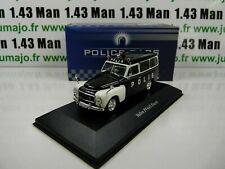 POL6U 1/43 Ixo Atlas Police of the World: Volvo PV445 Duett Polis