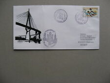 TURKEY, cover to Germany 1993, stamp bird duck