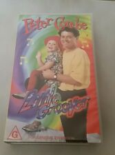 LITTLE GROOVER - PETER COMBE - GROOVY SONGS FOR GROOVY KIDS  -  VIDEO VHS TAPE