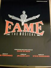 Fame. The Musical by Steve Margoshes and Jacques Levy. Piano/Vocal/Guitar. New