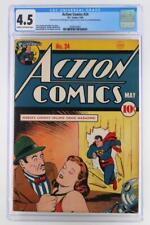 Action Comics #24 - CGC 4.5 VG+ -DC 1940- Superman!