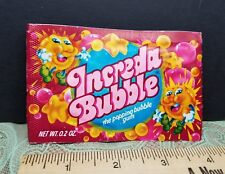 NOS Unused Neat Character Vintage Increda Bubble Popping GUM GENERAL FOODS Store