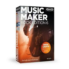 MAGIX Music Maker Rock Edition 6 - NEU & OVP