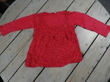 T-shirt tunique manches longues fuchsia à fleurs brodé hiboux SHINY Taille 4 ans