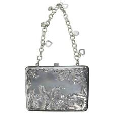 Antique Art Nouveau Sterling Silver Purse